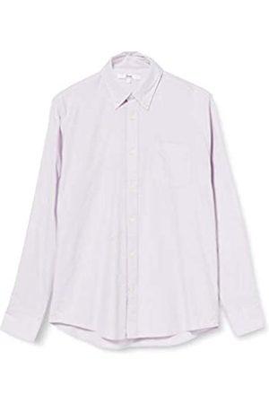 FIND Marchio Amazon - Camicia Oxford a Manica Lunga Uomo, ., L, Label: L