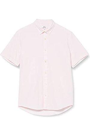 FIND Marchio Amazon - Camicia Oxford a Manica Corta Uomo, ., L, Label: L