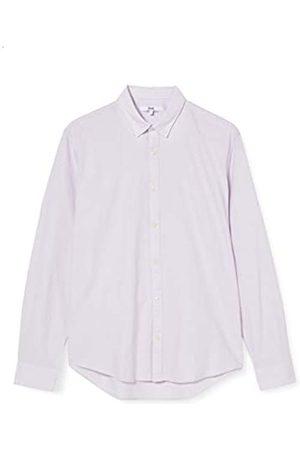 FIND Marchio Amazon - Camicia Oxford a Manica Lunga Uomo, ., M, Label: M