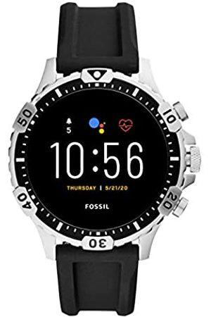Fossil Smartwatch Touchscreen Connected Uomo con Cinturino in Acciaio Inossidabile FTW4041