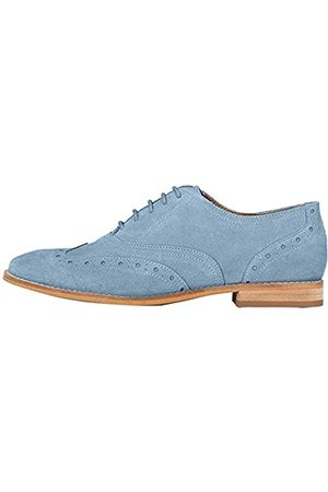 FIND Marchio Amazon - Leather Scarpe Stringate Brouge, , 41 EU