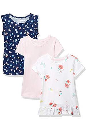 Amazon Girl 3 Pack Tunic Dresses, Flower, EU 104-110 CM