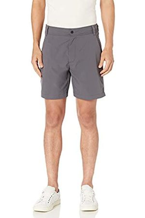 "Amazon Regular-Fit Hybrid Tech 7"" Short Athletic-Shorts, Scarpette a Strappo Voltaic 3 Velcro Kids-Bambini, 36"