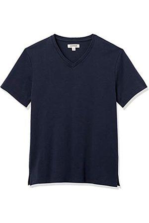 Goodthreads Heavyweight Oversized Short-Sleeve V-Neck T-Shirt Novelty-t-Shirts, Dainty, XL