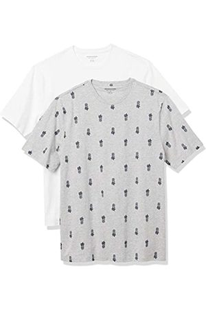 Amazon Set Composto da 2 Magliette a Girocollo a Maniche Corte Fashion-t-Shirts, Ananas, , US