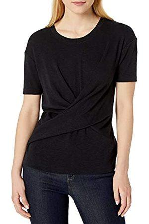 Daily Ritual Cotone Modal Stretch Slub Manica Corta Wrap T-Shirt Fashion-t-Shirts, Cruz V2 Fresh Foam, US M