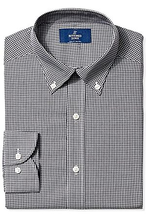 """Buttoned Down Slim Fit Pattern Camicia, , 16"""" Neck 34"""" Sleeve"""
