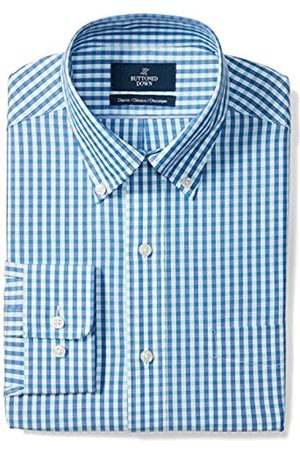 """Buttoned Down Classic Fit Button Collar Pattern Dress Shirt Camicia, , 17"""" Neck 36"""" Sleeve"""