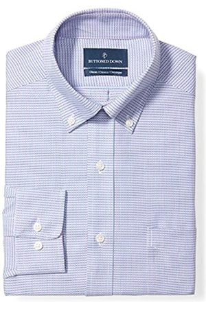 """Buttoned Down Classic Fit Button Collar Pattern Dress Shirt Camicia, , 18.5"""" Neck 36"""" Sleeve"""