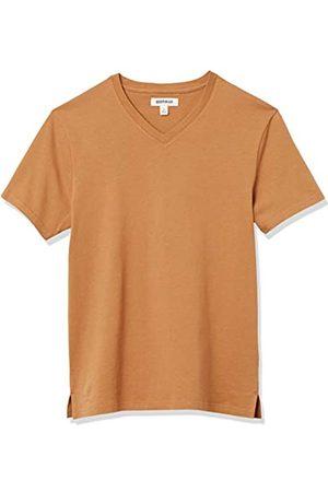 Goodthreads Heavyweight Oversized Short-Sleeve V-Neck T-Shirt Novelty-t-Shirts, Chiaro, XXL