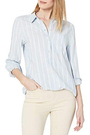 Daily Ritual Amazon Brand - Women's Soft Rayon Slub Twill Long-Sleeve Popover Tunic, , Medium