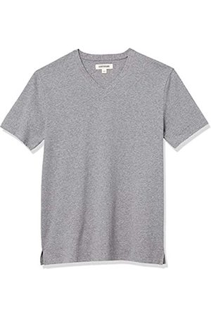 Goodthreads Heavyweight Oversized Short-Sleeve V-Neck T-Shirt Novelty-t-Shirts, Melange, 3XL