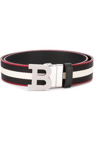 Bally Uomo Cinture - Cintura con fibbia a righe