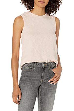 Daily Ritual Cotton Modal Stretch Slub Muscle-Sleeve Swing Tunic Athletic-Shirts, , US XL