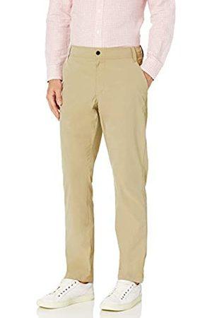 Amazon Athletic-Fit Hybrid Tech Pant Pants, Khaki Chiaro, 42W x 32L