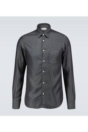 Officine Générale Camicia Benoit in denim