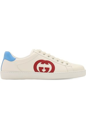 "Gucci Uomo Sneakers - Sneakers ""new Ace"" In Pelle"