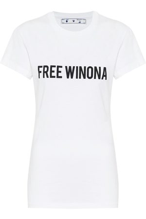OFF-WHITE T-shirt in cotone con stampa