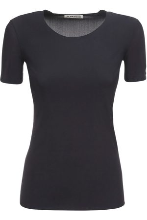 Jil Sander T-shirt In Techno Jersey