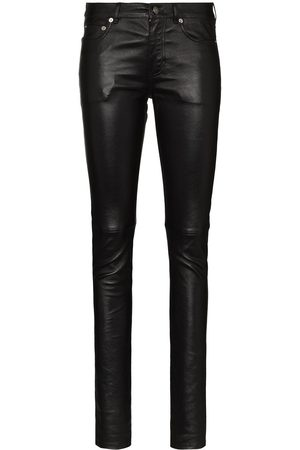Saint Laurent Pantaloni skinny - Di colore