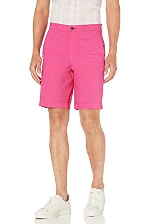 "Amazon Regular-Fit Lightweight Chino 9"" Short Shorts, Bright Pink, 31"