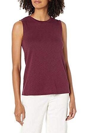 Daily Ritual Marchio Amazon - Cotton Modal Stretch Slub Muscle-Sleeve Swing Tunic athletic-shirts, , US M