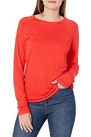 Goodthreads Lino Modal Jersey Manica Lunga Raglan T-Shirt Fashion-t-Shirts, Papavero Rosso, M