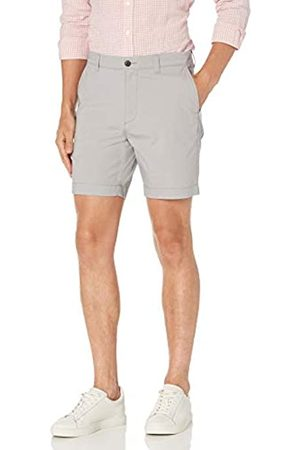 "Amazon Slim-Fit Lightweight Stretch 7"" Short Flat-Front-Shorts, Chiaro, 33"