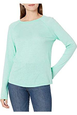 Goodthreads Lino Modal Jersey Manica Lunga Raglan T-Shirt Fashion-t-Shirts, Acqua pallida, XL