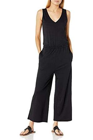 Daily Ritual Pima Cotton And Modal Interlock Sleeveless Wide-Leg Jumpsuit Shirts, Cruz V2 Fresh Foam, US S