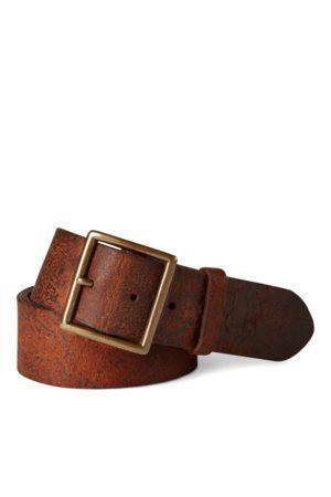 RRL Cintura in pelle invecchiata