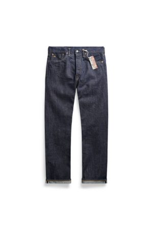RRL Jeans con cimosa Straight-Fit