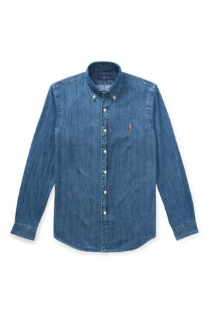 Polo Ralph Lauren Camicia sportiva in denim Slim-Fit