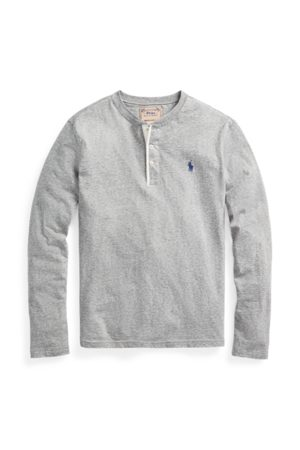 Polo Ralph Lauren Maglietta serafino in jersey irregolare