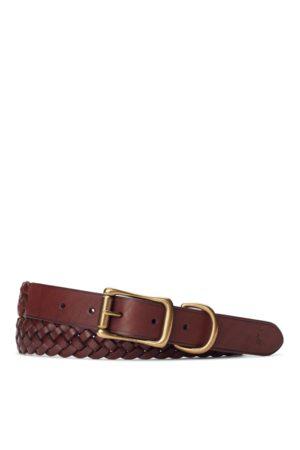 Polo Ralph Lauren Cintura in pelle intrecciata