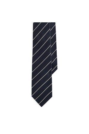 Ralph Lauren Cravatta in raso di seta a righe