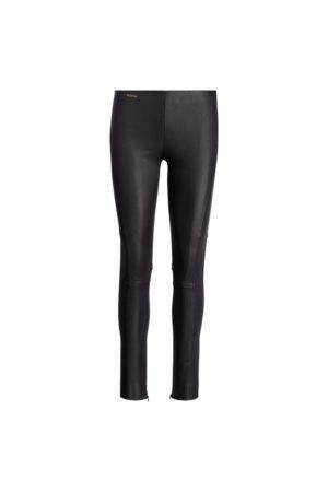 Polo Ralph Lauren Pantaloni skinny in pelle