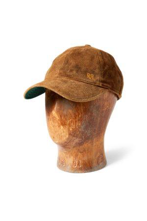 RRL Cappellino da baseball in camoscio