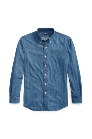 Polo Ralph Lauren Camicia in denim Custom-Fit