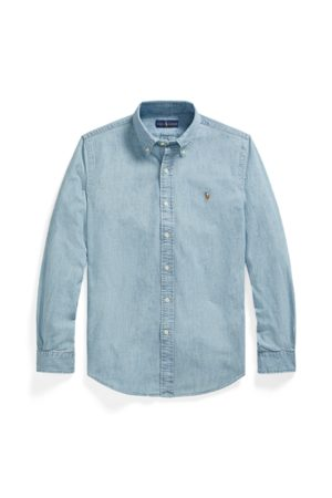 Polo Ralph Lauren Camicia in chambray Custom-Fit