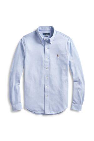 Polo Ralph Lauren Camicia Oxford in maglia