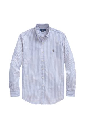 Polo Ralph Lauren Camicia popeline a righe Slim-Fit