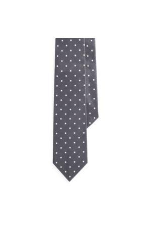 Ralph Lauren Cravatta in raso di seta a pois