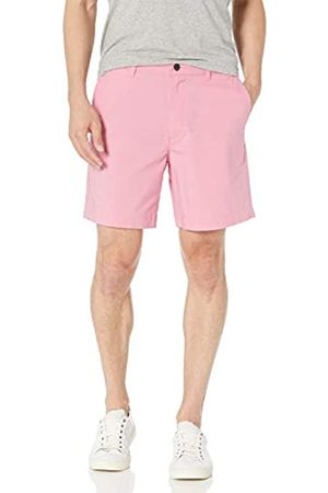 "Amazon Regular-Fit Lightweight Stretch 7"" Short Shorts, Washed Pink, 36"