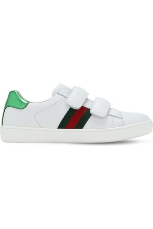 """Gucci Sneakers """"new Ace"""" In Pelle"""