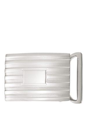 Ralph Lauren Uomo Cinture - Fibbia da cintura con fiorettatura