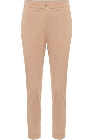 Etro Pantaloni slim in cotone stretch