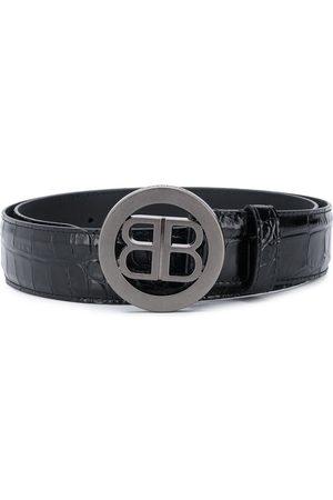 Balenciaga Uomo Cinture - Cintura con fibbia BB
