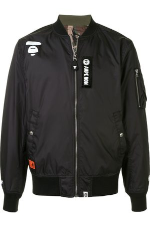 AAPE BY *A BATHING APE® Bomber con design patchwork - Di colore