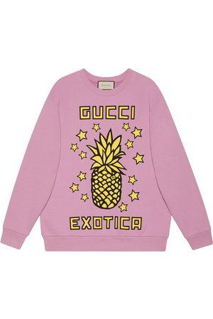 Gucci Felpa Exotica con stampa - Di colore